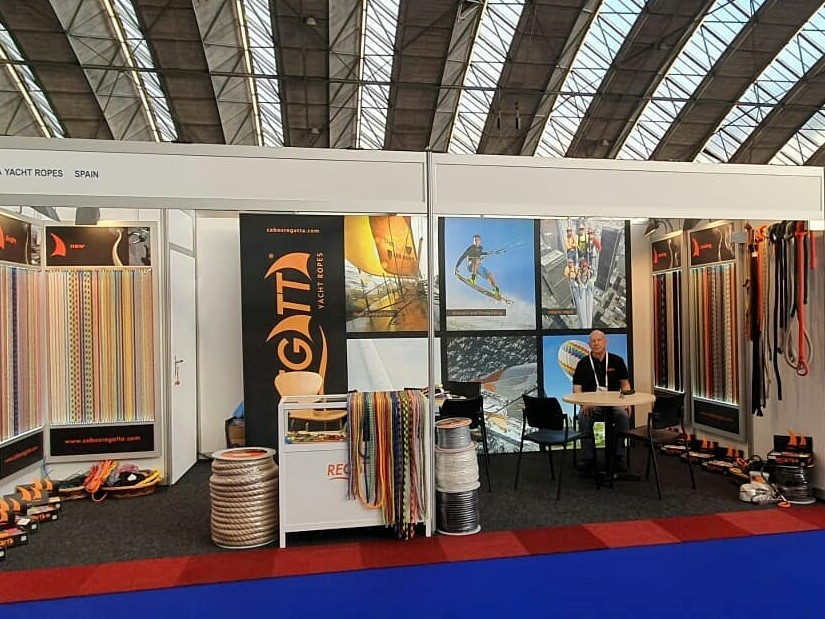 Regatta Yacht Ropes at the salon of METS TRADE 2019