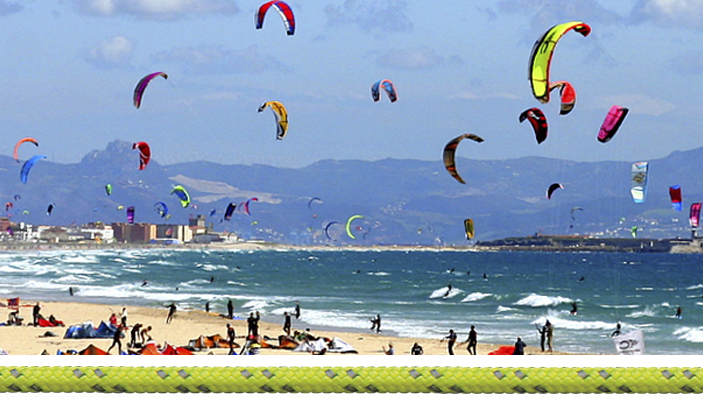 Kitesurf and Paragliding